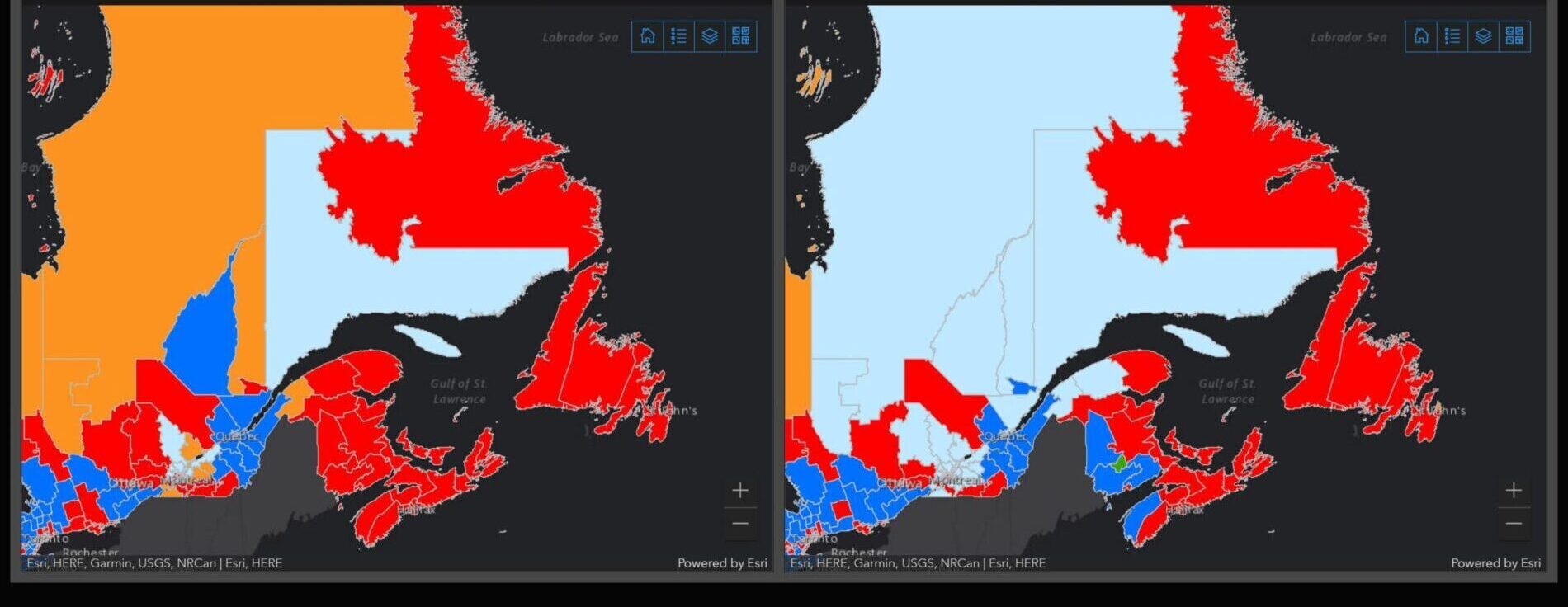 Check out our free Interactive Elections Canada Results Map